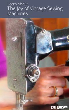 In this course, learn how to select, refurbish, clean, and use a vintage Singer sewing machine. Get tips on where to buy a vintage machine, how to evaluate its quality, and the tools you need to complete a DIY restoration!