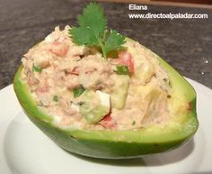 Palta Rellena is a delicious Bolivian Food. Learn to cook Bolivian Food Recipes and enjoy Traditional Bolivian Food. Skinny Recipes, Healthy Recipes, Healthy Food, South American Dishes, Bolivian Food, Bolivian Recipes, Chilean Recipes, Chilean Food, Chili