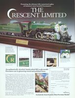 Franklin Mint The Crescent Limited 1992 Ad Picture