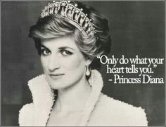 Princess Diana teaches us to reach out and help others in need.