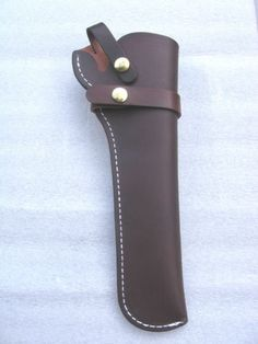 Leather-Hunting-Holster-For-Colt-1851-1860-Revolvers-Pietta-Uberti
