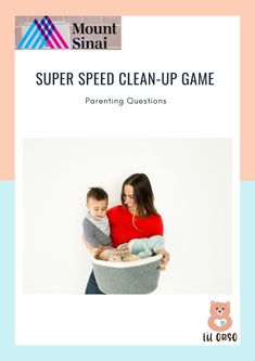 Every parent knows the frustration of cleaning up after a toddler playing with toys and friends. This week, our expert advisor Jocelyn Greene of Child's Play NY has a tip for making clean up both fun and super speedy. Click on the image to go through the entire article.  #MomLife #ToddlerLife #ToddlerBehaviour #ParentingTips #Tantrums #CrazyToddlers #KeepThemBusy #ChoresForToddlers #DifficultToddlerBehaviour #TameTantrums Clean Space, Clean Up, Scandinavian Nursery, Toddler Behavior, Speed Cleaning, Super Speed, Nursery Storage, Toddler Play, Up Game