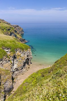 Bossiney Haven on the north coast of Cornwall, England