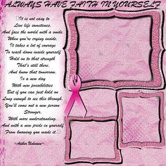 breast cancer scrapbook pg