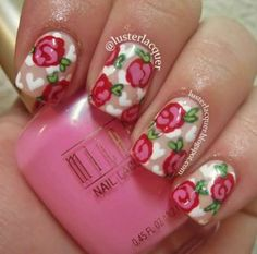 31 Beautiful nail designs for #Valentine's Day! #nails #Beauty     Looking for ideas for Valentine's Day, but can not find impressive nail designs? See in ediva.gr the best ideas for your manicure!
