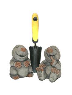 Oswaldtwistle Mills   Oakley Stone Animals - Medium Mole
