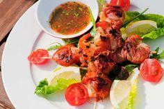 Er du ute etter en god oppskrift på scampi med serranoskinke? Besøk nettsidene til Taga og bli inspirert til å lage noe nytt! Scampi, Frisk, Tandoori Chicken, Yum Yum, Seafood, Ethnic Recipes, Sea Food, Seafood Dishes