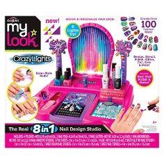 My Look 8 in 1 Super Nail Salon di Cra-Z-Art - yargı Gem Salon, Home Nail Salon, Toy Cars For Kids, Toys For Girls, Gifts For Girls, Girl Toys Age 9, Kits For Kids, Crafts For Kids, Privates Nagelstudio
