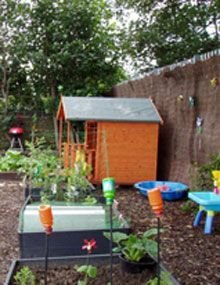 A lovely allotment shed that I wouldn\'t mind sitting next to my ...