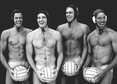 U.S. Water polo team 1996.  i love this picture!