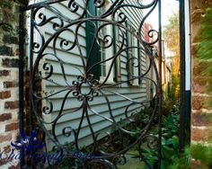 Ironwork Charleston SC   signed matted print by CharminglyDixie, $30.00