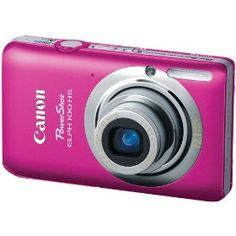 Canon PowerShot ELPH 100 HS 12.1 MP CMOS Digital Camera with 4X Optical Zoom (Pink) Price:$129.00 & this item ships for FREE with Super Saver Shipping.