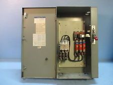 Westinghouse A204S3ACAC Size 3 Starter 100 Amp Fusible Combination Box Fused Sz3. See more pictures details at http://ift.tt/1O7Qd5m