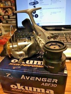 Okuma Avenger ABF 30  7 ball bearing SPINNING REEL NEW IN BOX #OkumaFishing