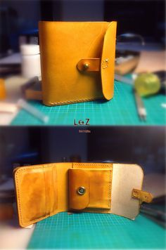 sewing pattern short wallet patterns PDF CDS01 von LZpattern