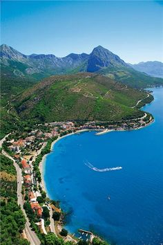 Drvenik, Croatia. Drvenik is a village in southern Dalmatia and lies in two bays. (V)