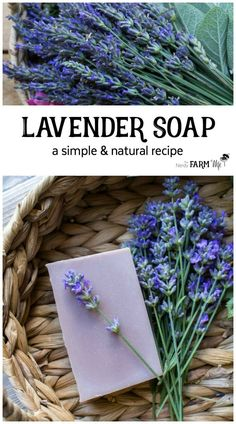 How to Make a Simple Natural Lavender Soap from Scratch