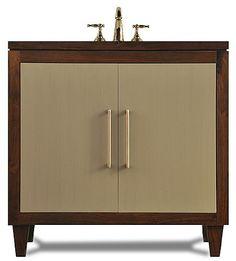 Custom Made Bathroom Vanities Gold Coast the bamboo bathroom cabinetj. tribble, atlanta's premier