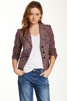 Lavand | Boucle Blazer | Nordstrom Rack  I want this in a Small! <3 Tried the XS and it was just a little too small... Keeping my fingers crossed I find it!