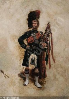 1880 highlander by Detaille