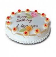 Midnight Cake Delivery In Hyderabad India Birthday Gift Types Of Cakes