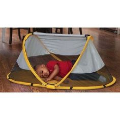 BABY SUN CANOPY TENT ZIPPER TRAVEL TODDLER SLEEPING PAD W CARRY BAG MESH PLAYPEN #KIDCO  sc 1 st  Pinterest & KidCo Peapod Travel Tent - Sunshine - P3011 shoptutti-bambini.com ...