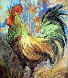 The Gentleman Rooster at FramedArt.com