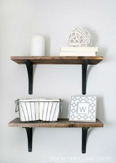 This DIY project is a fun way to incorporate a rustic feel into your home.