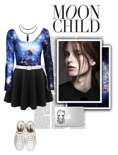 """""""- Moon Child -"""" by the-forgotten-wolf ❤ liked on Polyvore"""