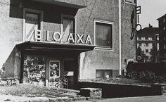 Nordenskiöldinkadun Bio Axa oli yksi Helsingin kymmenistä korttelikinoista. Näytöstoiminta lakkasi 1984. Kuva 1970-luvun alusta. (HS) Kuva: KAVA