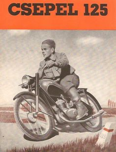 Bike Poster, Motorcycle Posters, Bike Brands, Biro, Vintage Posters, Vintage Images, Vintage Motorcycles, Illustrations And Posters, Hungary