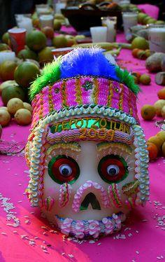 DIA DE LOS MUERTOS/DAY OF THE DEAD~Dia de Muertos en Tepotzotlan