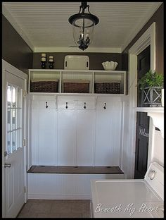 Small Mudroom Layout