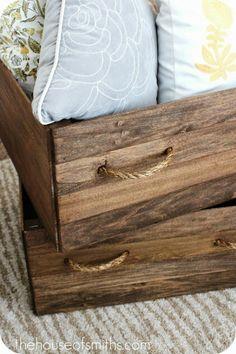 Cómo hacer una caja de madera vintage