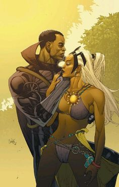 Black Panther & Storm