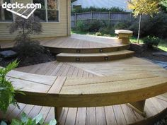 curved deck | Search The Site