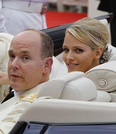 Charlene and Albert...Monaco...