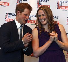 Prince Harry meets Olympic swimmer Missy Franklin on her birthday - Photo 4 | Celebrity news in hellomagazine.com