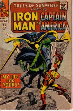 marvel silver age comic book covers | Marvel-Comic-Book-Silver-Age-12-Cent-Tales-Of-Suspense-Issue-73-Iron ...