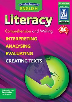 Australian Curriculum English Literacy. Comprehension and Writing. Foundation. Early Years. Teacher resource book.