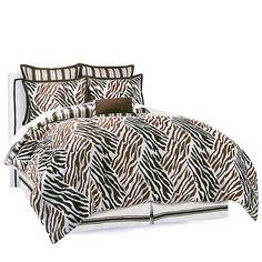 Alexa Hampton Home 7-piece Animal Print Comforter Set at HSN.com
