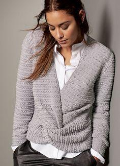 Lana Grossa PULLOVER Cool Wool - FILATI CLASSICI No. 10 - Modell 15   FILATI.cc WebShop