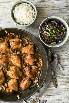 Poulet au miso et champignons - K pour Katrine Healthy Eating Tips, Healthy Nutrition, Clean Eating, Chicken Marinade Recipes, Asian Recipes, Ethnic Recipes, Meat Chickens, Vegetable Drinks, Food Trends