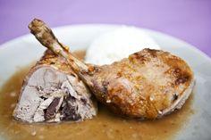 Kitchenette - Pečená kachna s omáčkou z portského vína a fíků