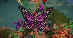 Flower Garden Minecraft Project - My world Minecraft Building Plans, Minecraft Garden, Minecraft Structures, Minecraft Tips, Minecraft Survival, Minecraft Blueprints, Minecraft Designs, Minecraft Creations, Minecraft Crafts