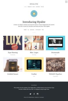 Hyalite by Cedaro on @creativemarket
