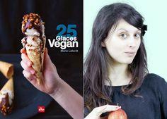 25 Glaces Vegan. Marie Laforêt