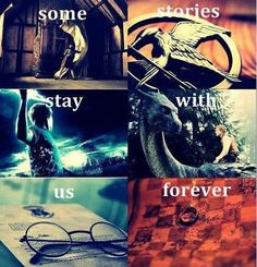Some stories stay with us forever. So glad Eragon was included in this one! These are all my top favorite series!
