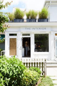 We caught up with Stephanie Michaan to hear more about her design philosophy, career choices, and what is next for her East Hampton based store, The Interior. Study Interior Design, Interior Design Process, Outdoor Spaces, Outdoor Decor, Shop Window Displays, Shop Plans, Commercial Design, Little Houses, Minimal Design