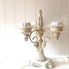 French Provincial Candelabra Elegant Candle by FarmHouseFare